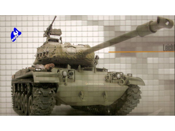 AFV maquette militaire 35s41 M41 WALKER BULLDOG OTAN 1/35