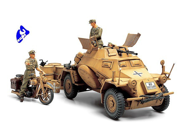 Tamiya maquette militaire 35286 Sd.Kfz.222 North Africa 1/35