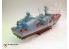 Merit maquette bateau 67201 CORVETTE LANCE-MISSILES OSA-1 (Classe OSA) SOVIETIQUE 1/72