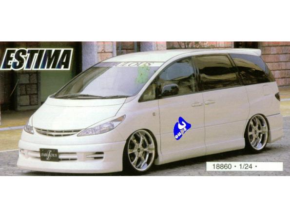 Fujimi maquette voiture 18860 Toyota Fabulous Estima 1/24