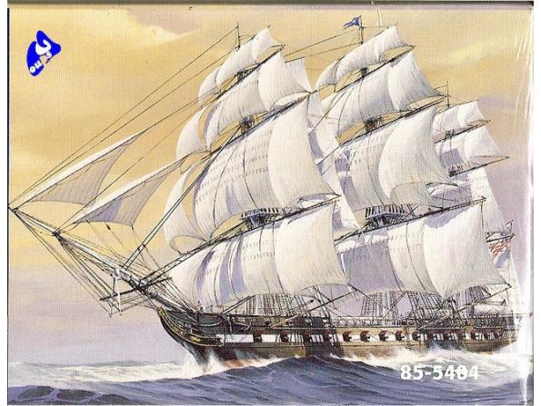 Revell US maquette bateau 5404 U.S.S Constitution 1/196