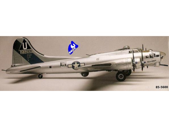 Revell US maquette avion 5600 B-17G Forteresse volante 1/48