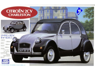 Mr Hobby Maquettes voiture G198 Citroên 2cv Charleston 1/24