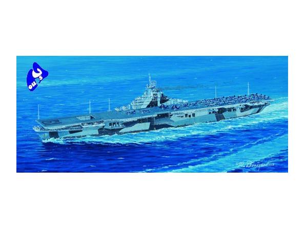 "trumpeter maquette bateau 05737 PORTE AVIONS USS CV-19 ""HANCOCK"""