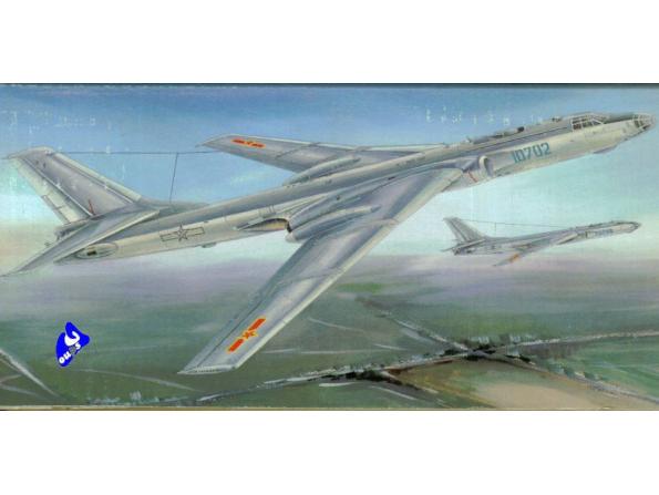 """Trumpeter maquette avion 01612 TU-16K-26 """"BADGER"""" G 1/72"""
