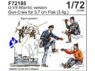 CMK figurine 72185 ARTILLEURS ALLEMANDS 1/72