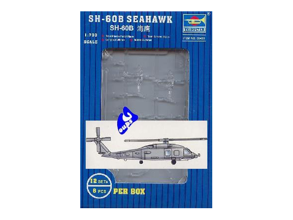 Trumpeter maquette avion 03435 HELICOPTERES SH-60B SEAHAWK 1/700
