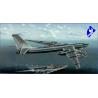 "Trumpeter maquette avion 03905 TU-142MR "" BEAR-J"" 1/144"