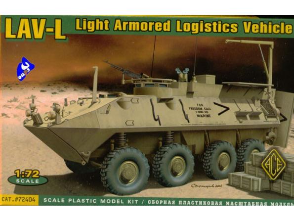 Ace Maquettes Militaire 72404 LAV-L 1/72