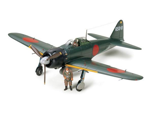 Tamiya maquette avion 60318 Mitsubishi A6M5 Zero Fighter 1/32