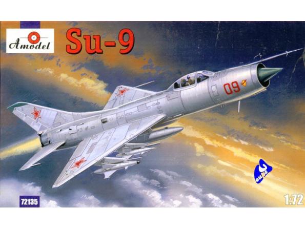 Amodel maquette avion 72135 SUKHOI SU-9 1/72