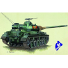 trumpeter maquette militaire 07217 CHAR MOYEN TYPE61 1/72