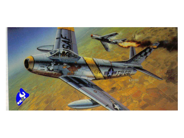 Academy maquettes avion 2162 F-86F-30 Sabre 1/48