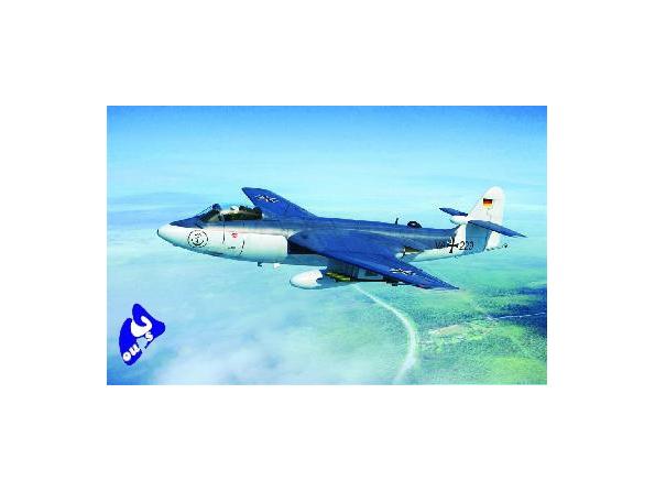 "Trumpeter maquette avion 02827 HAWKER ""SEAHAWK"" MK. 100/101 1/48"