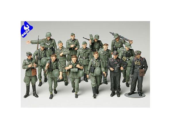 tamiya maquette militaire 32530 Infanterie en manoeuvre 1/48