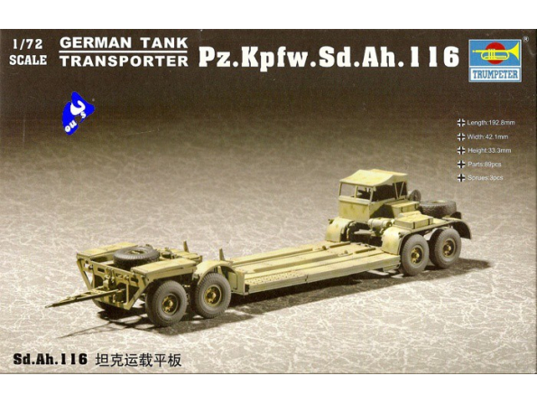 Trumpeter maquette militaire 07249 Sd.Ah.116 1/72