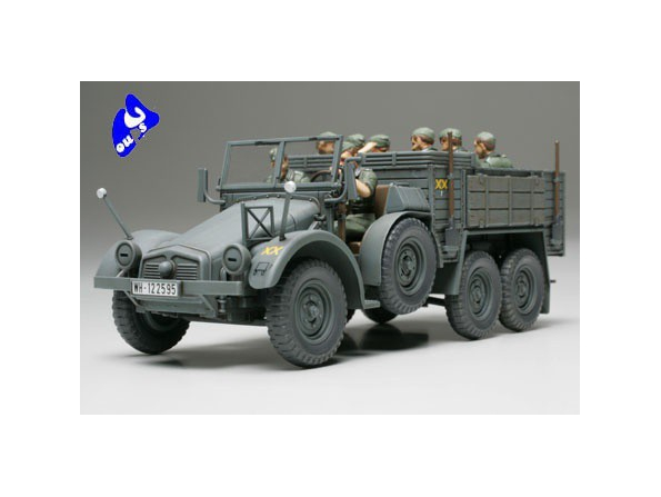 tamiya maquette militaire 32534 6x4 Truck Krupp Protze 1/48