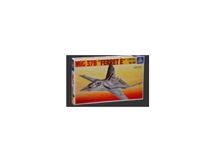 italeri maquette avion 0162 mig 37B Ferret E 1/72
