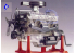 REVELL US Maquette 8883 moteur V8 Transparent 1/4