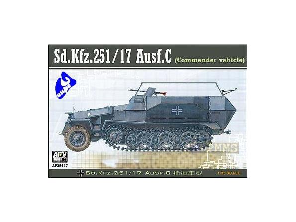 AFV maquette militaire 35117 Sd.Kfz 251/17 Ausf C 1/35