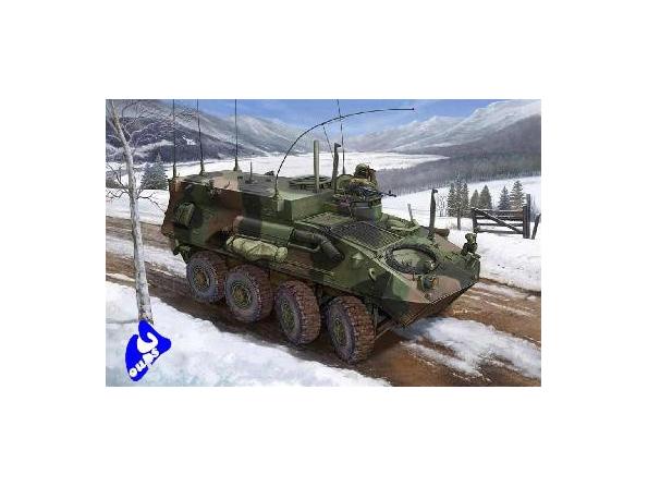 Trumpeter maquette militaire 00371 USMC LAV-C2 COMMAND & CONTROL