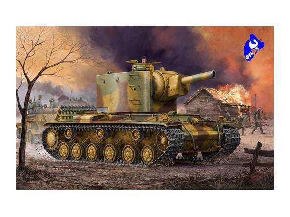 trumpeter maquette militaire 00367 German Pz.Kpfm KV-2 754(r) 1/