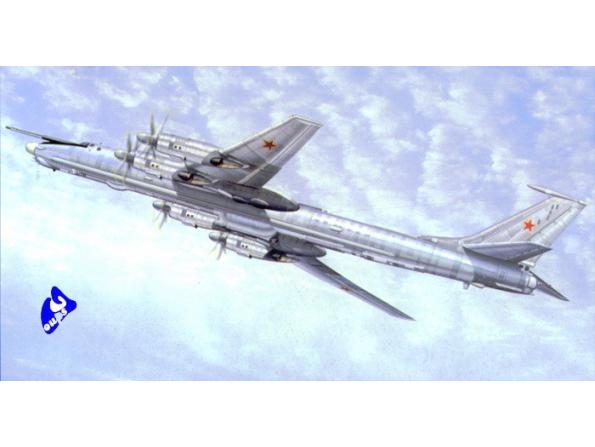 Trumpeter maquette avion 01609 TUPOLEV TU-142MR 1/72