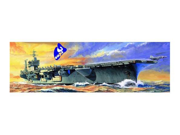 trumpeter maquette bateau 05714 USS CVN-68 NIMITZ 1/700