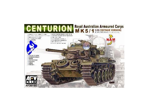 afv club maquette militaire 35100 CENTURION MK 5/1 1/35