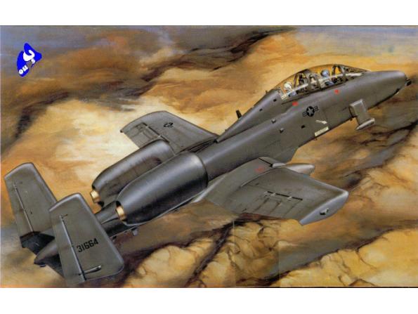 Trumpeter maquette avion 02215 A-10A BI-PLACE 1/32
