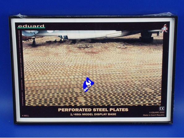 Eduard photodecoupe 8801 Perforated Steel Plates 1/48