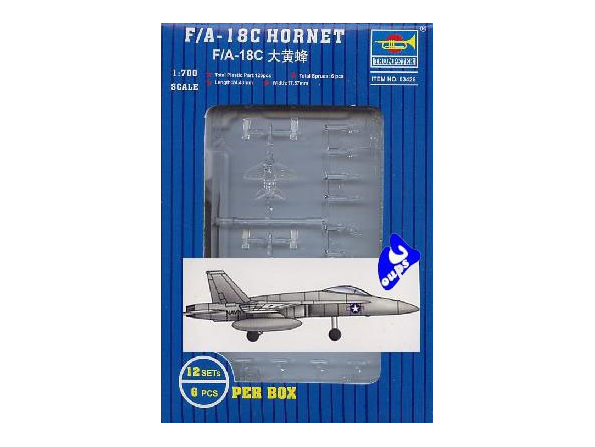Trumpeter maquette avion 03426 F/A-18C HORNET 1/700