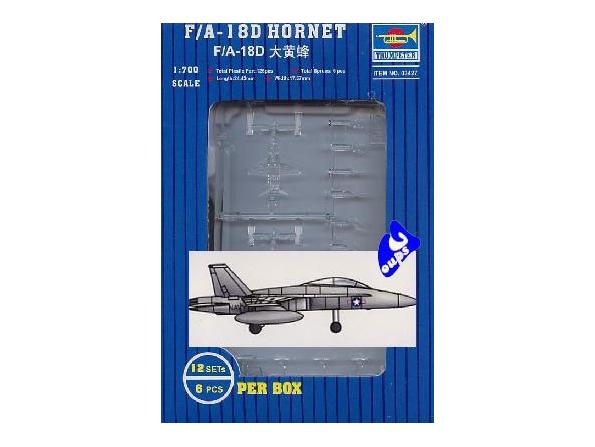 Trumpeter maquette avion 03427 F/A-18D HORNET 1/700
