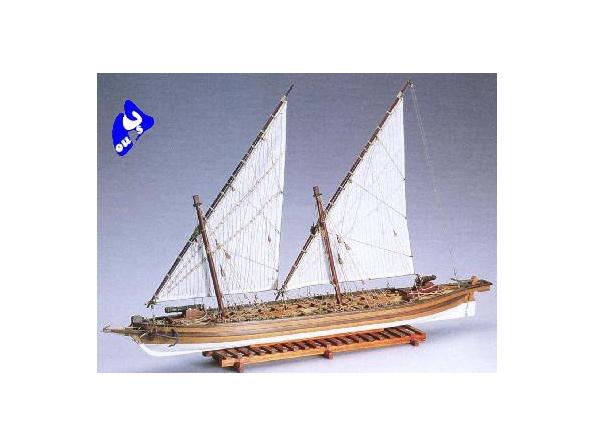 Amati Kit bateau bois 1422 ARROW 1814 CANONIERE US