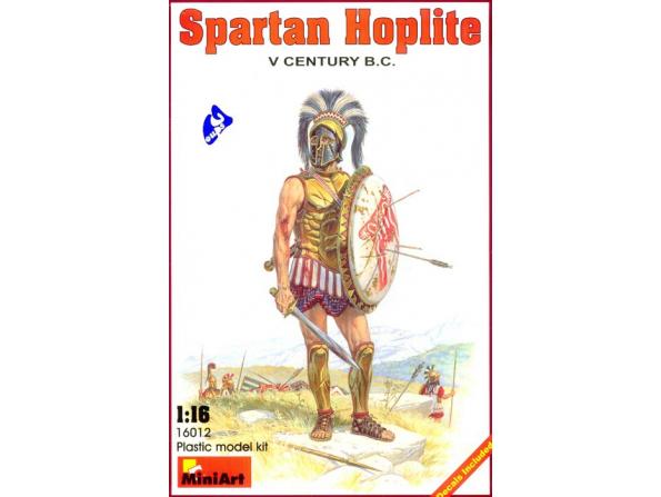 Mini art figurine 16012 HOPLITE DE SPARTE 1/16