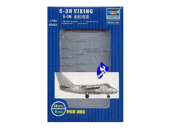 Trumpeter maquette avion 03432 AVIONS S-3B VIKING 1/700