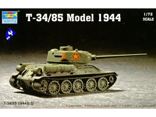 Trumpeter maquette militaire 07207 T-37/85 1/72