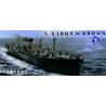 Trumpeter maquette bateau 05308 LIBERTY SHIP SS JOHN BROWN 1/350