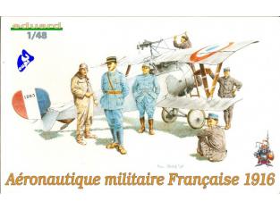 EDUARD maquette avion 8511 Aeronautique Française 1916 1/48