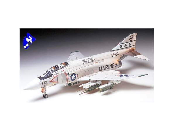 Tamiya maquette avion 60308 McDonnell F-4 J Phantom II Marine 1/