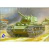 Zvezda maquette plastique 3539 Char lourd sovietique KV1 1/35