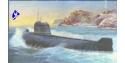 Zvezda maquette bateau 9025 sous marin K-19 1/350