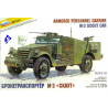 Zvezda maquette plastique 3519 M3 Scout car 1/35