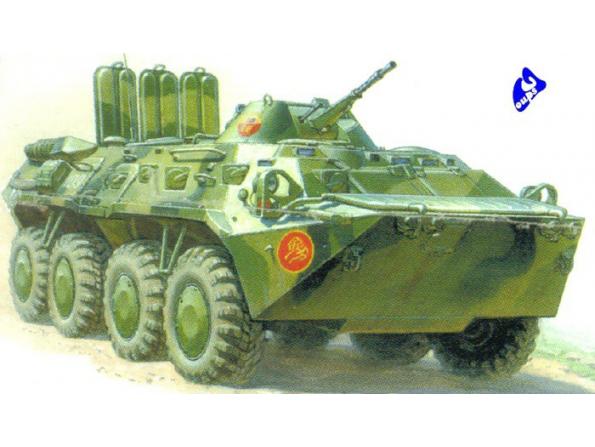 Zvezda maquette plastique 3558 BTR 80 1/35