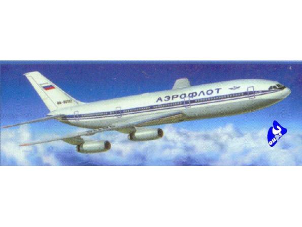 Zvezda maquette avion 7001 Illiouchine II-86 1/144