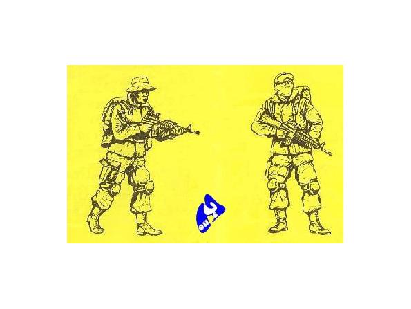 CMK figurine 35193 US Navy SEALS en Afghanistan 1/35