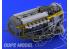 Eduard kit d&39amelioration brassin SIN64809 Kit complet pour Spitfire Mk.IX Advanced 1/48