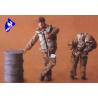 CMK figurine 48061 PILOTES ITALIENS 1/48