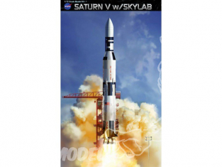 Dragon maquette avion 11021 Saturn V avec Skylab 1/72