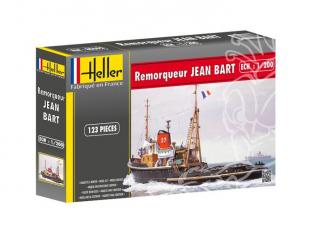 Heller maquette bateau 80602 REMORQUEUR JEAN BART 1/200